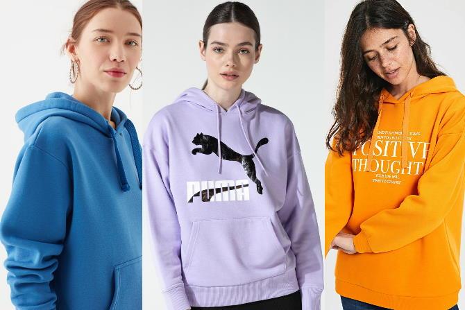Sonbahar Modası 2021 Bol Sweatshirt Modelleri
